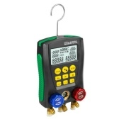 Manometer-Kühlung Digitaler Vakuum-Druckverteiler-Tester Meter HVAC-Temperaturtester Digitaler Manifold-Manometer HVAC-Vakuumdruck