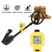 Children Handheld Metal Detector Gold Silver Jewelry Seeker Metal Finder with Sound Alarm LED Light Indication