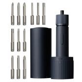 Электрическая отвертка с прямой ручкой, синий набор, электрический инструмент, регулируемые три шестерни, портативная многофункциональная электрическая отвертка