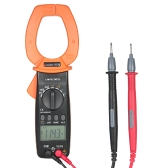 RuoShui 3999 Conta Handheld Digital Clamp Meter Multimetro AC / DC Tensione 2000 A Corrente Display LCD portatile Auto-ranging Test Capacità Resistenza Diodo di frequenza Hz Duty Cycle Tester