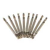 "10pcs 1/8"" HSS-Co Drills Double Ended Cobalt M35 Drill Bits Set"