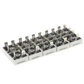 10pcs 50A 1000V KBPC5010 Metal Housing Single Phase Diode Bridge Rectifier