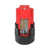 12V 2.0Ah Li-ion Battery M12 Replacement Lithium-ion Battery Pack for Milwaukee M12 Cordless Tools 48-11-2401 48-11-2402 Power Tools