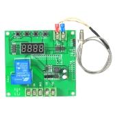 ミニLED温度コントローラモジュール0〜1000℃K型センサプローブ付き温度制御スイッチボード