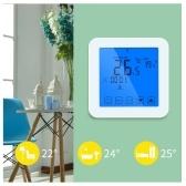 Termostato digitale touch screen programmabile