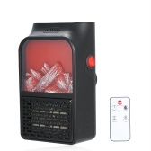 220V Mini Electric Handy Flame Heater 500W Plug-In Air Warmer