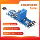 Módulo sensor de salão Módulo sensor de contagem de velocidade Módulo sensor de detecção de contador de velocidade