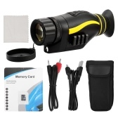 NV0435 4X Infrared Night Vision Outdoor Use Monocular Telescope