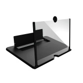 引っ張り型携帯電話スクリーンアンプ3D効果デスクホルダー付き大画面電話スクリーンムービーゲーム用拡大鏡