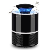 Electric Mosquito Killer USB UV Lamp Bug Zapper Insect Flies Killer Repeller Eliminator Catcher Mosquito Trap with Tray Lamp Anti-mosquito Tool No Noise for Home Living Room Bedroom Office Indoor