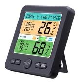 ЖК-дисплей Настенный настольный домашний высокоточный измеритель температуры и влажности Бытовой электронный будильник Интеллектуальный дом