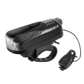 WEST BIKING USB 250 Lumen Fahrradlicht mit Horn Fahrradscheinwerfer Fahrradausrüstung Fahrrad Frontlicht Fahrradscheinwerfer