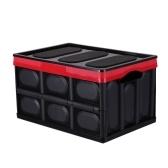 Caja de almacenamiento multifuncional Caja plegable Caja plegable plegable Contenedor de almacenamiento apilable Caja de plástico plegable Canasta de lavandería