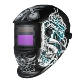 工業用溶接ヘルメット太陽光発電自動化溶接ヘルメットTIG MIGマスクスカル研削帽子デザイン