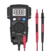 BSIDEデジタルマルチメータ6000カウントLCDディスプレイトゥルーRMSミニユニバーサルメータDMMテスタオートレンジスマートマルチメータ測定AC / DC電圧電流抵抗周波数