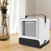 Homgeek Mini Portable Air Conditioner Fan  Office Dormitory Air Cooler with LED Lights