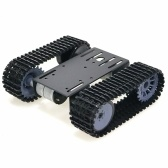 Tracked Robot Smart Car Platform Robotics Kits Robot Tank Crawler Chassis DIY Kit Solid Robotic Platform Tank Mobile Platform Robotic Toy Platform for Arduino