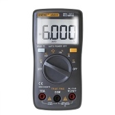 ANENG 6000 Counts True RMS Multifunctional Digital Multimeter Voltmeter Ammeter Handheld Mini Universal Meter High Accuracy Measure AC/DC Voltage AC/DC Current Resistance Capacitance Frequency Duty Cycle Diode Tester