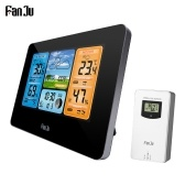 FanJu FJ3373 Multifunction Digital Weather Station LCD Alarm Clock
