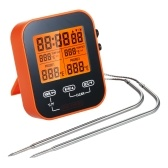 Digital Food Thermometer and Timer Wireless Meat Temperature Probe Thermomter