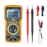 Multifunktionale LCD Digital Automotive Multimeter DMM 6000 Counts Anzeige True RMS Auto Range AC / DC Spannung Strom Meter Widerstand Große Kapazität Tester