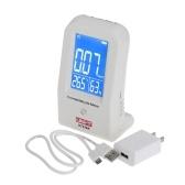 Esposizione LCD dell'igrometro del termometro del monitor dell'aria del rivelatore del registratore di dati della formaldeide dell'interno di alta precisione della seconda mano