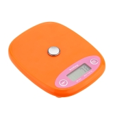 Mini Electronic Balance Professional Digital Pocket Scale Kitchen Scale Food Weighing Tool Orange/White