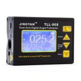 TLL-90 Super alta precisión ángulo Meter 0,005 profesional doble eje Digital láser nivel inclinómetro ángulo transportador con pantalla LCD 100-240V 50 - 60Hz