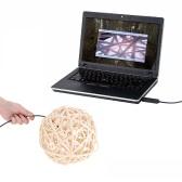 KKmoon 7 mm 5 m Mini cyfrowa endoskopowa kamera inspekcyjna Regulowana jasność dla komputera