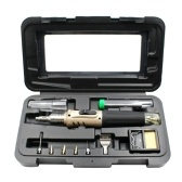 HS-1115K Gases Soldering Irons Tool 10 in 1 Self-igniting Cordless Welding Pen Blow Torch Kit
