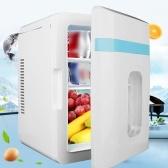 12V Mini Universal Vehicle Fridge Portable Car Freezer Food Heater 10L Refrigerator