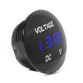 Car Motorcycle DC 12V-24V LED Panel Digital Voltage Meter Display Voltmeter