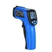 -50~550℃(-58~1022℉) Handheld Non-contact IR Infrared Thermometer 12:1 Digital Temperature Tester Pyrometer LCD Display with Backlight Centigrade Fahrenheit Adjustable Emissivity
