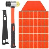 Набор инструментов для установки деревянных полов из ламината Набор инструментов для деревянного пола Набор стуков для пола