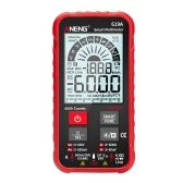ANENG 619A 6000 Counts LCD Digital Multimeter Pocket Size True RMS Universal Tester Measure AC/DC Voltage & Current Resistance Capacitance Continuity Diode NCV Test