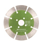 114*2.0*20mm Dry Cutting Segmented Diamond Saw Blade with Cooling Holes 20mm Inner Diameter Marble Granite Tile Incising For Angle Grinder Architectural Engineering Architect