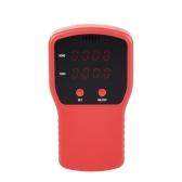 Portable Air Quality Detector Digital Formaldehyde Gas Monitor LCD HCHO & TVOC Tester Instrument Meter Air Analyzers for Indoor Home