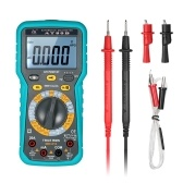 Multi-functional LCD Digital Automotive Multimeter DMM 6000 Counts Display True RMS Auto Range AC/DC Voltage Current Meter Resistance Large Capacitance Tester