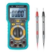 Multimetro digitale multifunzione DMM LCD con retroilluminazione 6000 conteggi Display True RMS AC / DC Tensione corrente Tester Resistenza Capacità Tester di frequenza