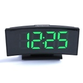Multifunctional Large Screen Digital Display Electronic Table Clock Mute LED Mirror Alarm Clock with Date Function and Temperature Function