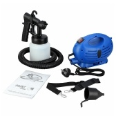 650W Electric HVLP Paint Sprayer Spray Machine 800ML Indoor Fence Wall Painting Tool