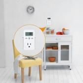 US Plug Plug-in LCD Digital Monitor de energía Medidor de energía Electricidad Uso eléctrico Socket de monitorización