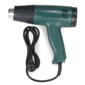Sistema de herramienta de pistola de calor de pistola de aire caliente eléctrico de alta calidad controlado con 4pcs boquillas 1800W AC110V