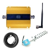 LCD Digital Display DCS1800MHz Mobile Phone Signal Booster Cell Phone Signal Repeater Signal Amplifier Set
