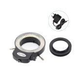 実体顕微鏡用の可変144 LEDリングライト、および実体顕微鏡用の調光器付きカメラ調整可能照明