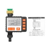Programmable Outdoor Watering Timer Single Outlet Automatic On Off Irrigation System