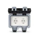 IP66 Weatherproof Waterproof Outdoor Wall Power Socket 16A
