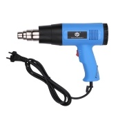 2000W Heat Gun Professional Electric Hot Air Gun Fast Heating Variable Temperatures with 2-Temp Settings Cone Nozzle 140℉~1112℉ for Soldering Stripping Paint Shrinking PVC Over-heat Protection