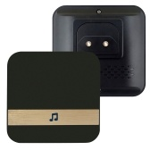 Wireless Doorbell Chime Household Plug-in Chime WiFi Ding-Dong Alarm Smart Door Bell Receiver EU Plug