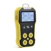 多機能 4 In 1 ガス検知器 2 インチ LCD ディスプレイ可燃性ガス検知器